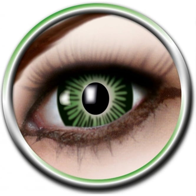 Eye Catcher Big Eye Lenses - Green (B01) - (Usage: 3 Months - 1 Pair)
