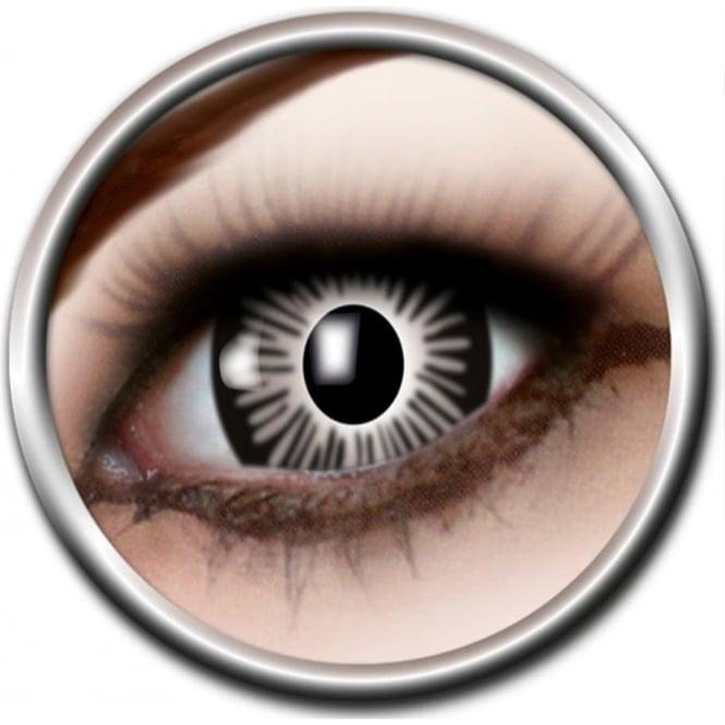 Eye Catcher Big Eye Lenses - Grey (B04) - (Usage: 3 Months - 1 Pair)