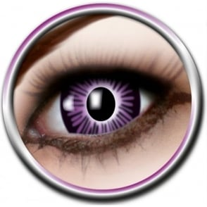 Big Eye Lenses - Purple (B06) - (Usage: 3 Months - 1 Pair)