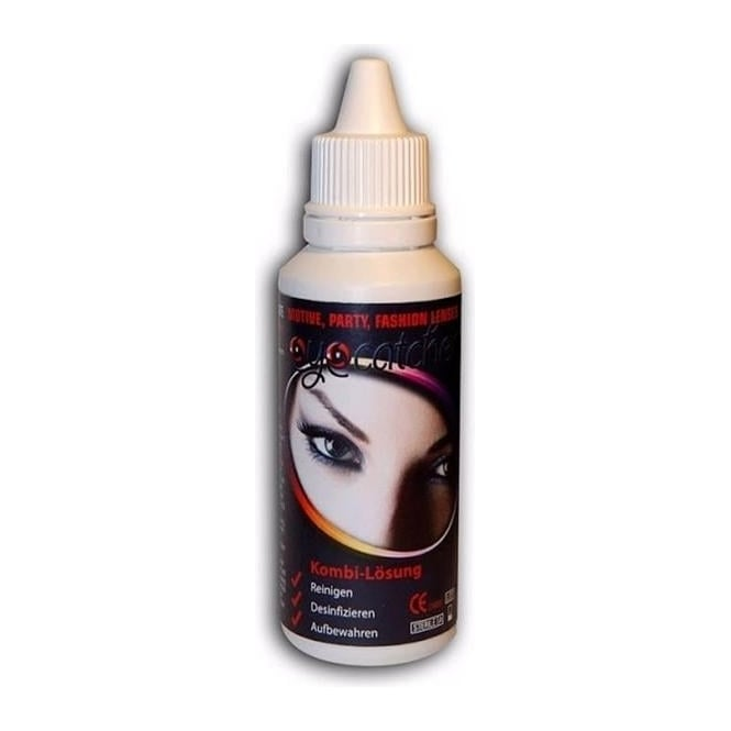 Eye Catcher Solution With Free Contact Lense Case 50ML