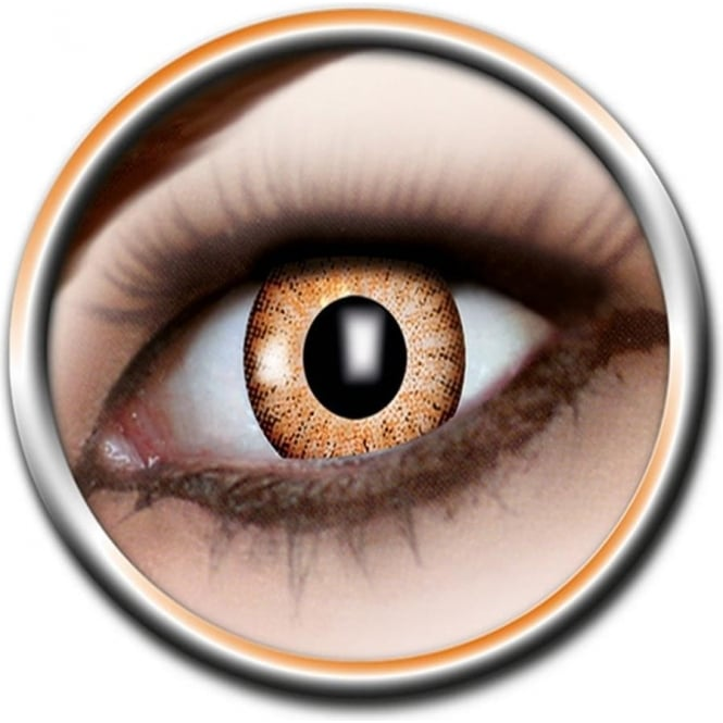 Eye Catcher Tone Lenses - One Tone - Bright Flame (A31) - (Usage: 12 Months - 1 Pair)