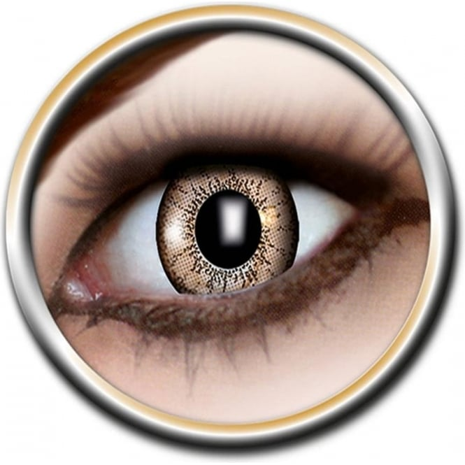 Eye Catcher Tone Lenses - One Tone - Magical Brown (A28) - (Usage: 12 Months - 1 Pair)