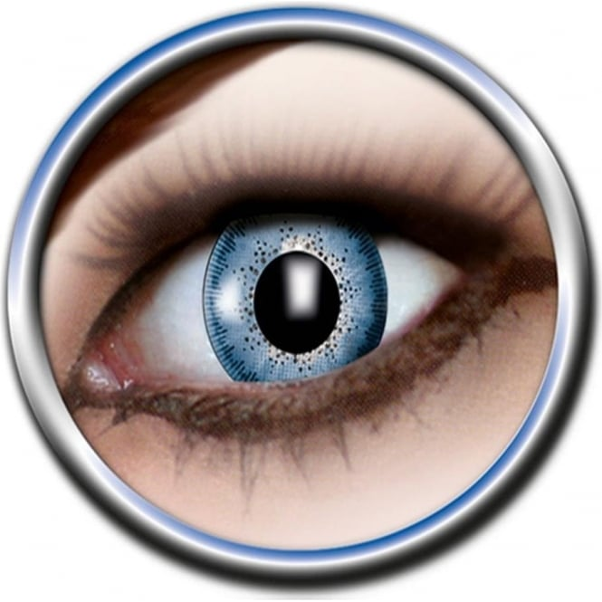 Eye Catcher Tone Lenses - One Tone - Underwater Blue (A20) - (Usage: 12 Months - 1 Pair)