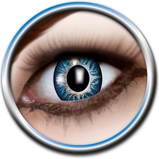 Eye Catcher Tone Lenses - Three Tone - Shallow Blue (A64) - (Usage: 12 Months - 1 Pair)