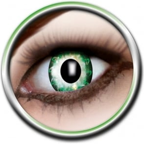 Tone Lenses - Two Tone - Green Flower (A58) - (Usage: 12 Months - 1 Pair)
