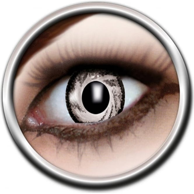 Eye Catcher Tone Lenses - Two Tone - Grey Glaze (A45) - (Usage: 12 Months - 1 Pair)