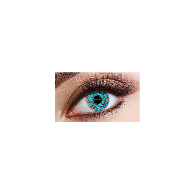 Eyecasions Fashion Fancy Dress 1 Month Tone Contact Lenses - Blue Tint (1 pair)