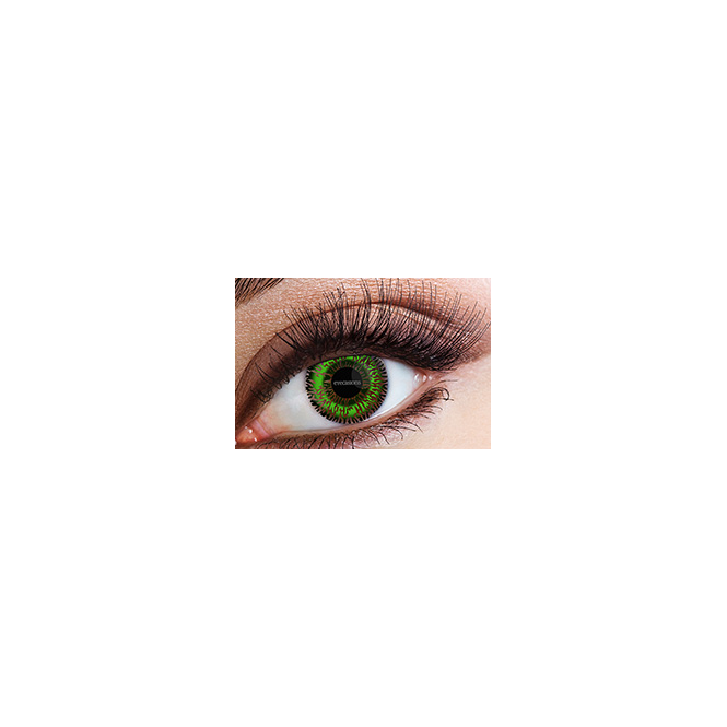 Eyecasions Fashion Fancy Dress 1 Month Tone Contact Lenses - Green (1 pair)