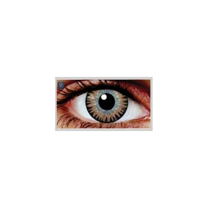 Eyecasions Fashion Fancy Dress 1 Month Wear Contact Lenses - Misty Brown (1 Pair)
