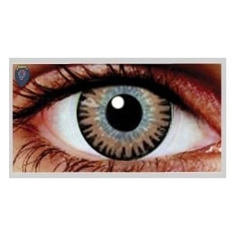 Fashion Fancy Dress 1 Month Wear Contact Lenses - Misty Brown (1 Pair)