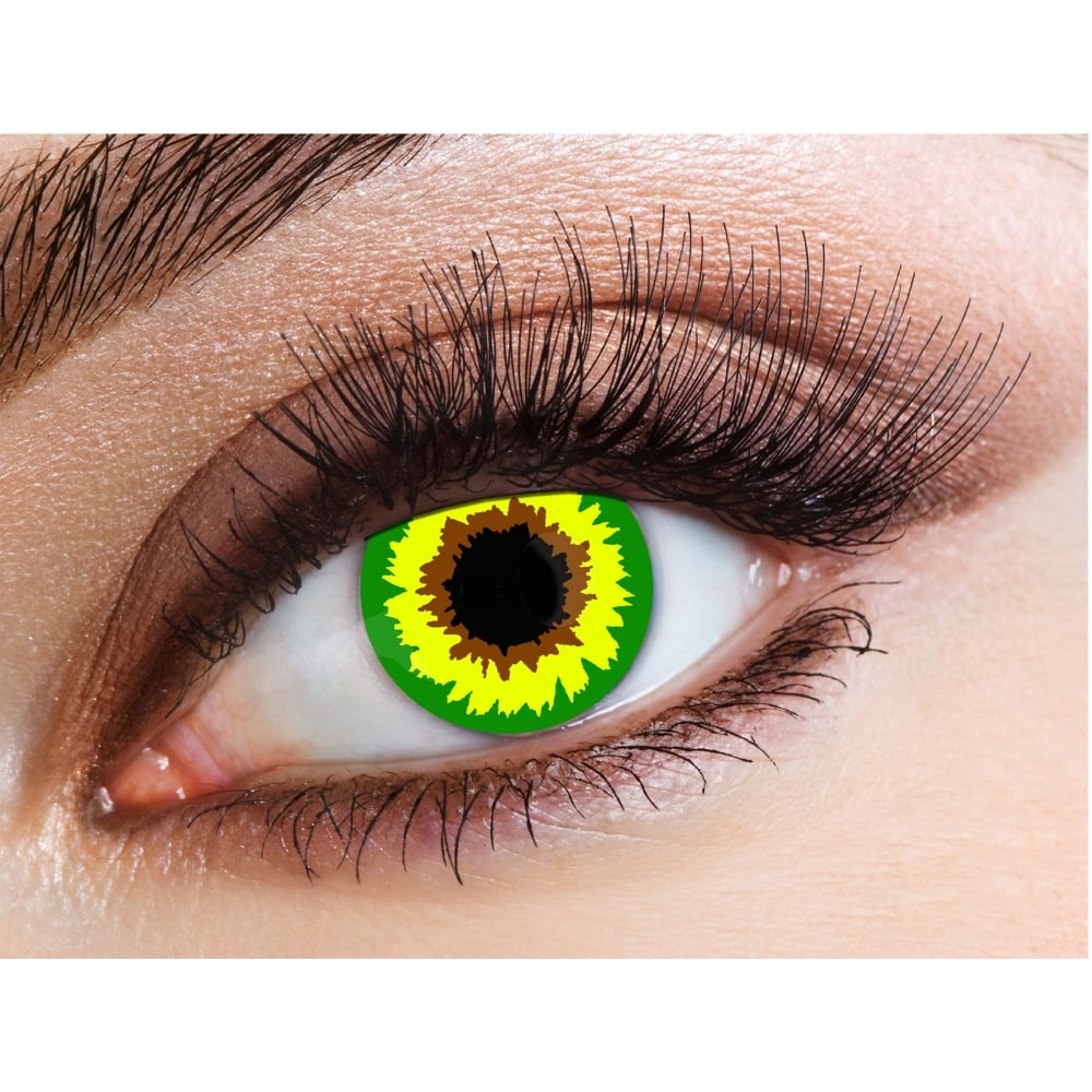 Eyecasions One Day Halloween Contact Lenses Mad Hatter 1 Pair