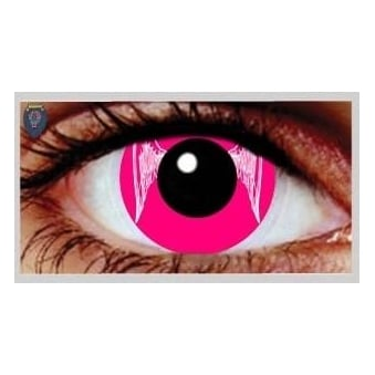 One Day Scary Extreme Halloween Contact Lenses - Angel (1 Pair)