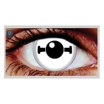 One Day Scary Extreme Halloween Contact Lenses - Bolt (1 Pair)