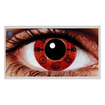 One Day Scary Extreme Halloween Contact Lenses - Cleopatra (1 Pair)