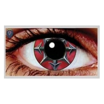 One Day Scary Extreme Halloween Contact Lenses - Daggers (1 Pair)