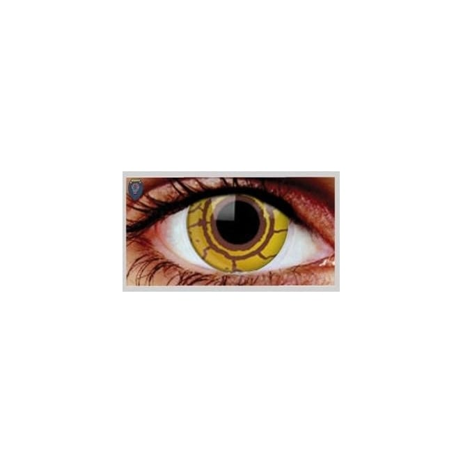 Eyecasions One Day Scary Extreme Halloween Contact Lenses - Virus (1 Pair)