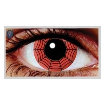 One Day Scary Extreme Halloween Contact Lenses - Web (1 Pair)