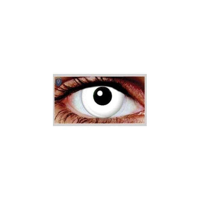 Eyespy Fashion 1 Day Contact Lenses - Daily Wild White (1 Pair)