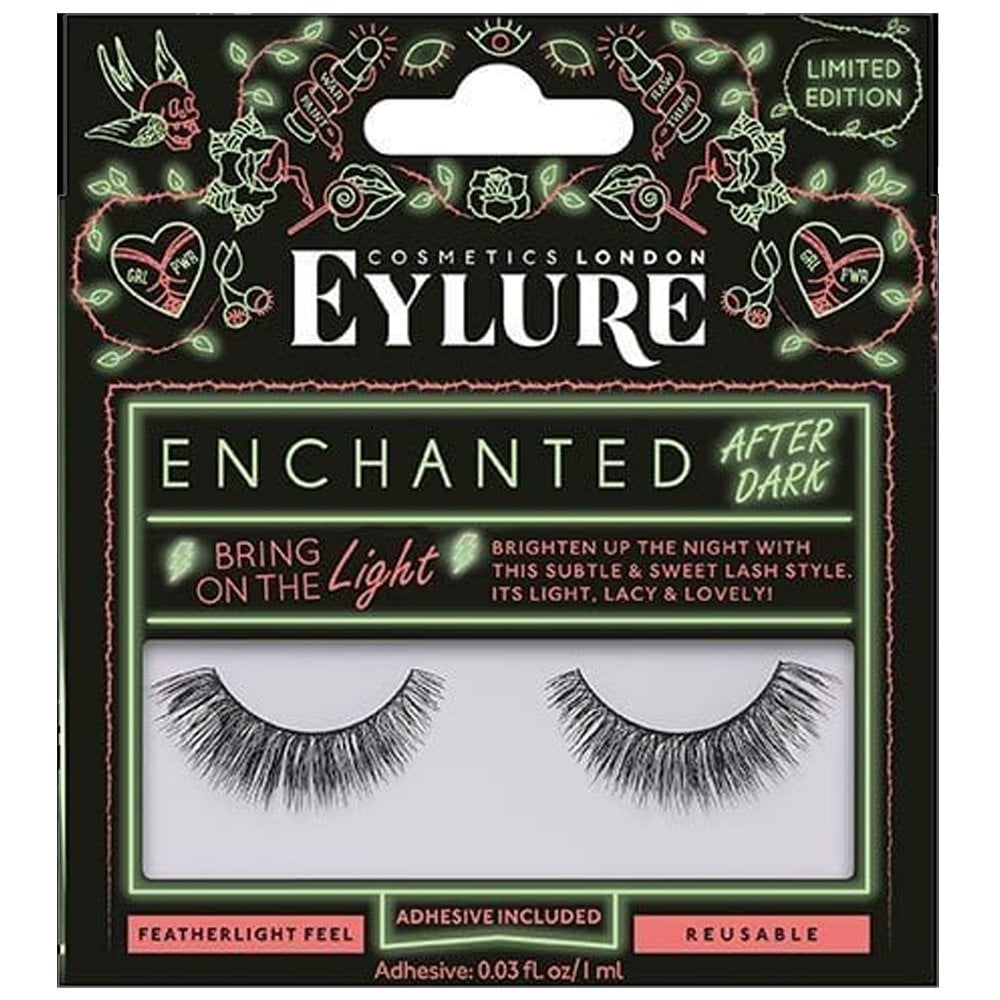 1444ad29def Enchanted After Dark Eyelashes - Bring On The Light (Adhesive Included)