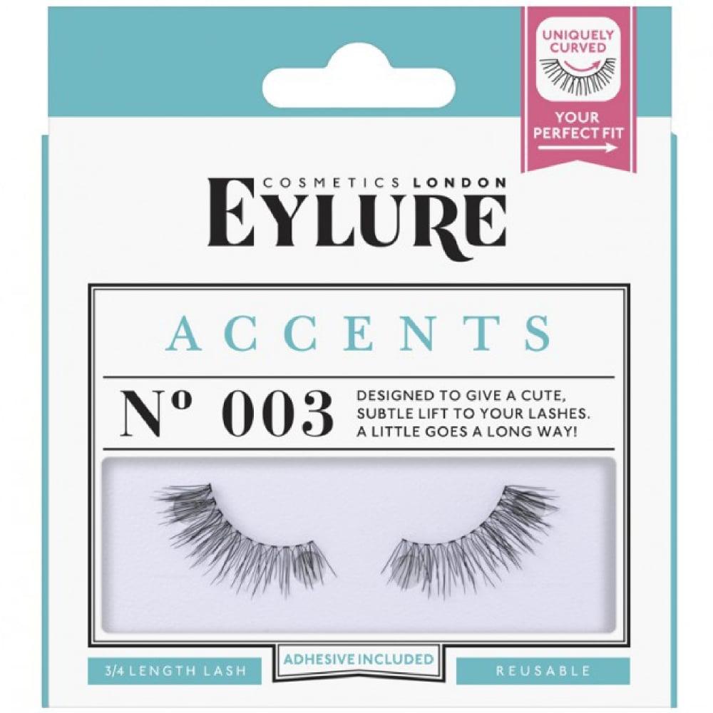 9137999d359 False Eyelashes - Accents No 003 (Reusable Eyelashes, Adhesive Included)