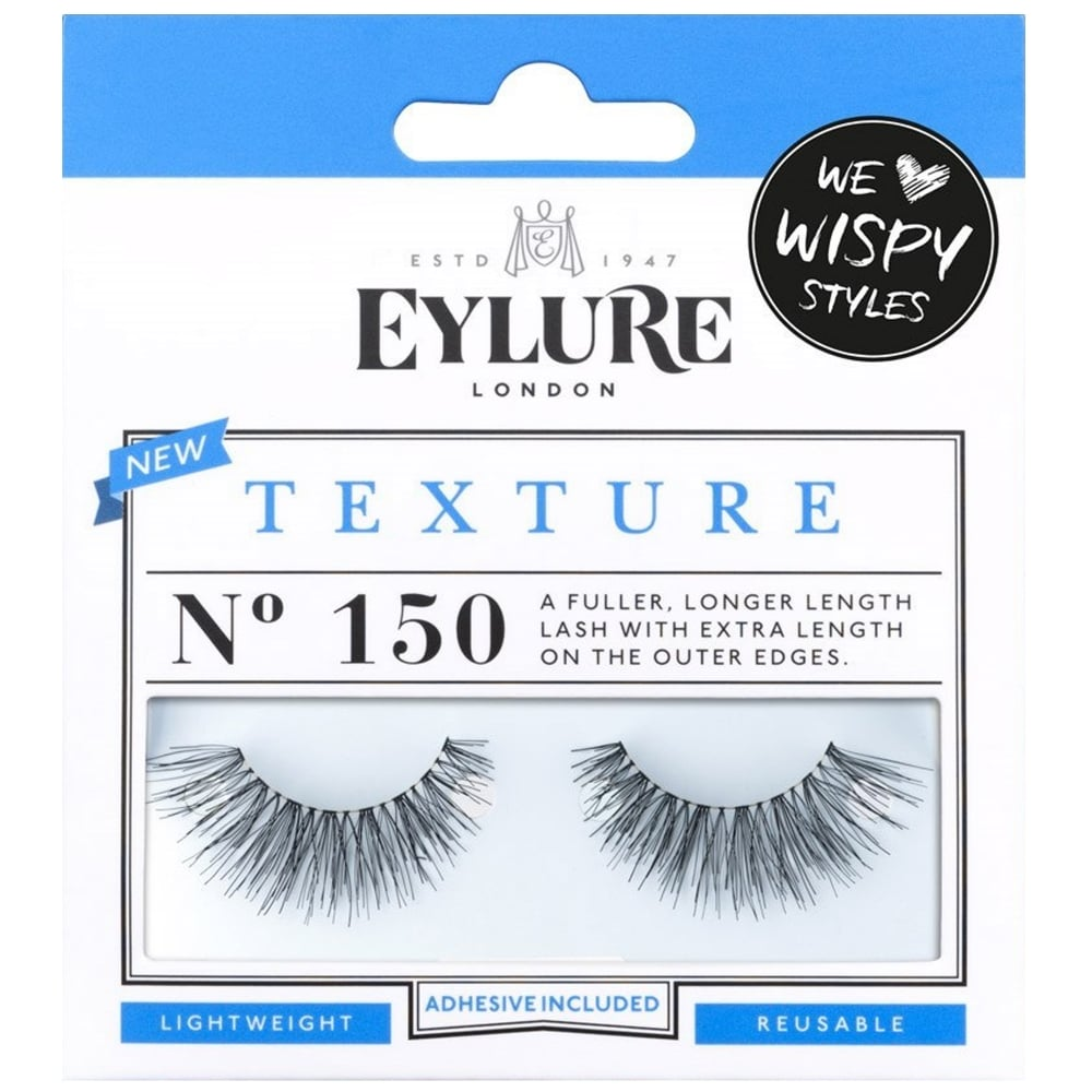 a121a7af2f2 Texture No 150 Reusable Extra Length Eyelashes (Adhesive Included)