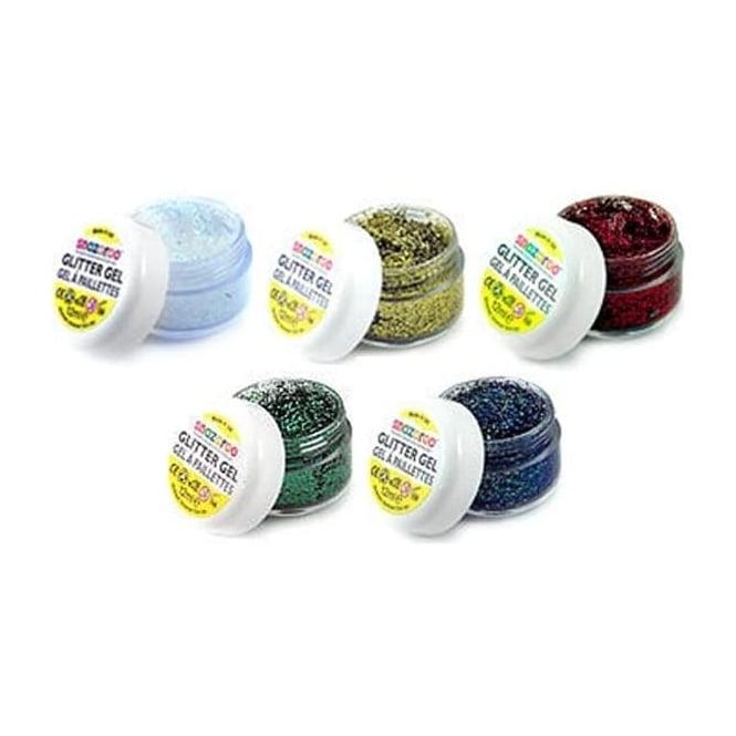 Snazaroo Face Painting Glitter Gels 12ml