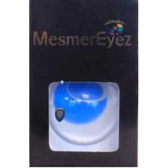 Fancy Dress Halloween Contact Lenses - Blind Blue (Usage:1,3,12 Months - 1 Pair)
