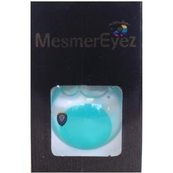Fancy Dress Halloween Contact Lenses - Blind Green (Usage:1,3,12 Months - 1 Pair)