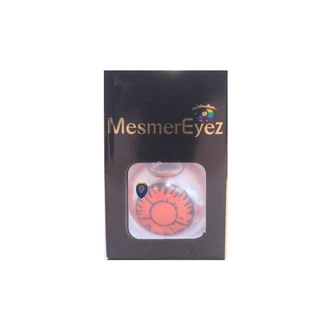 Mesmereyez Xtreme Fancy Dress Halloween Contact Lenses - Blind Twilight Volturi (Usage:1,3,12 Months - 1 Pair)