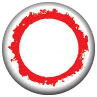 Fancy Dress Halloween Contact Lenses - Blind Vampire (Usage:1,3,12 Months - 1 Pair)