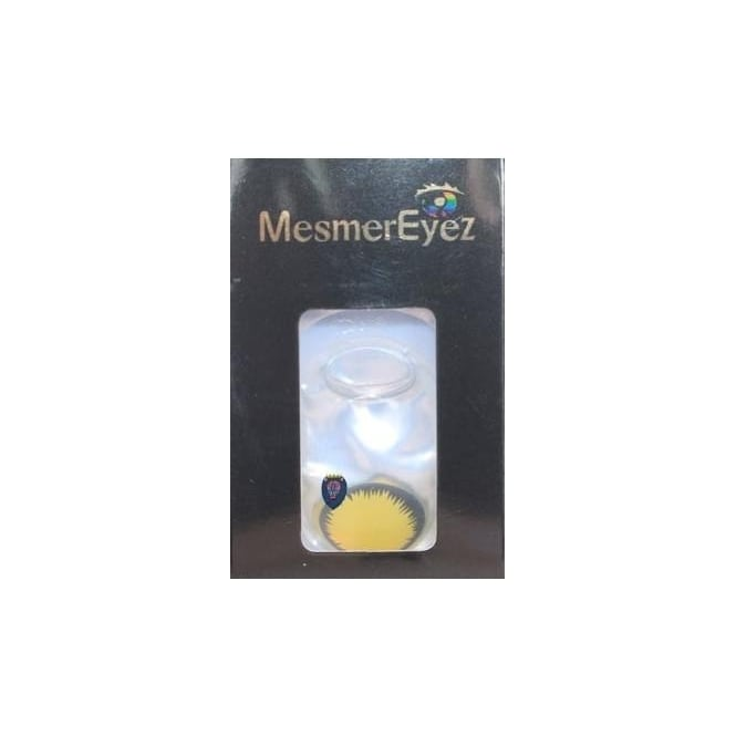 Mesmereyez Xtreme Fancy Dress Halloween Contact Lenses - Blind Wolf (Usage:1,3,12 Months - 1 Pair)