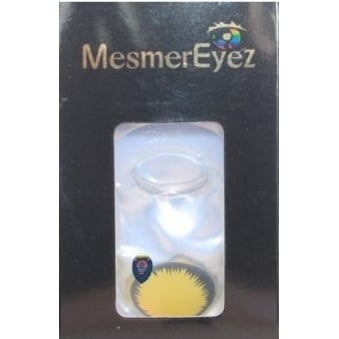 Fancy Dress Halloween Contact Lenses - Blind Wolf (Usage:1,3,12 Months - 1 Pair)