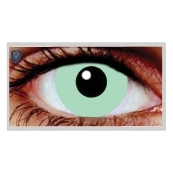 Fancy Dress Halloween Contact Lenses - Noddy Blue (Usage:1,3,12 Months - 1 Pair)