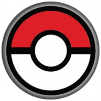Fancy Dress New One Day Halloween Contact Lenses - Blind Pokeball (1 Pair)