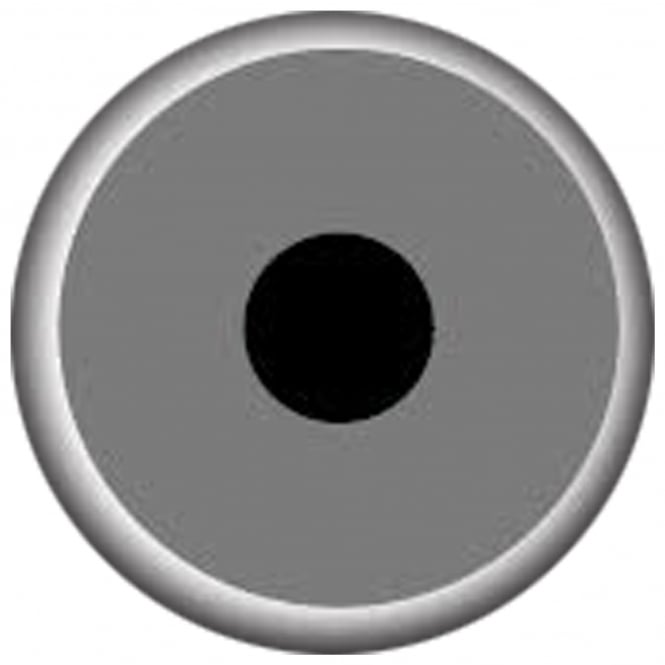 Mesmereyez Xtreme Fancy Dress New One Day Halloween Contact Lenses - Mini Sclera Grey (1 Pair)
