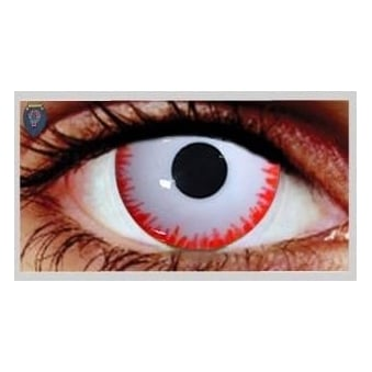Fancy Dress One Day Halloween Contact Lenses - Bezerker (1 Pair)