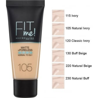 Fit Me Matte and Poreless Foundation (30ml)