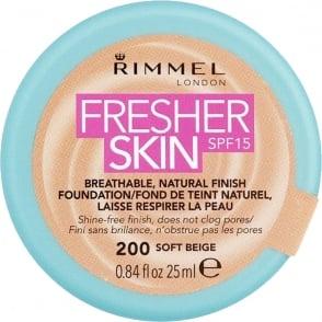 Fresher Skin - SPF 15 - 200 Soft Beige - 25ml