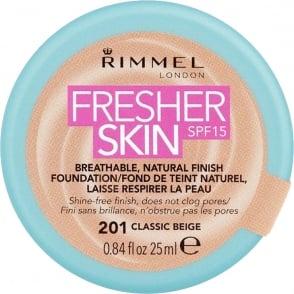 Fresher Skin - SPF 15 - 201 Classic Beige - 25ml