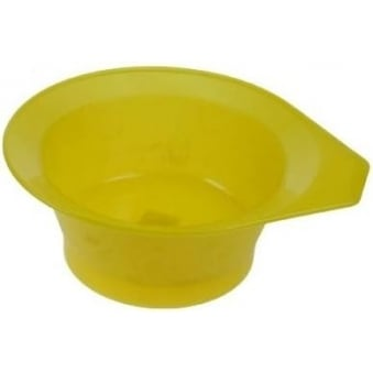 Frosted Tint Bowl - Yellow