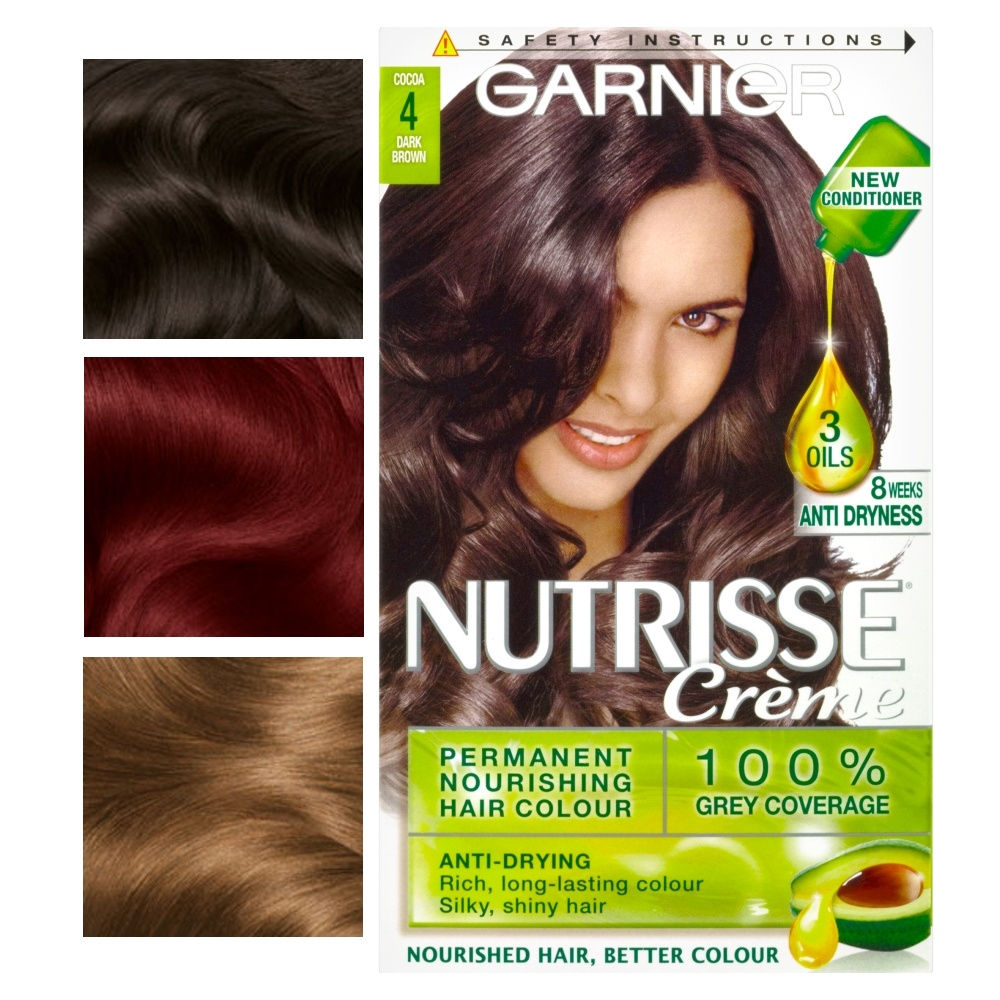 Garnier Nutrisse Creme Permanent Nourishing Hair Colour 100 Grey
