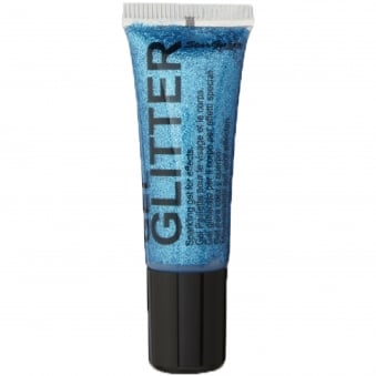 Gel Glitter - Blue 10ml
