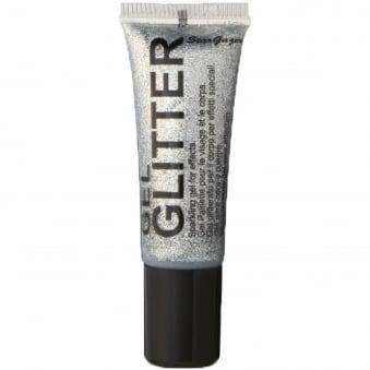 Gel Glitter - Silver 10ml