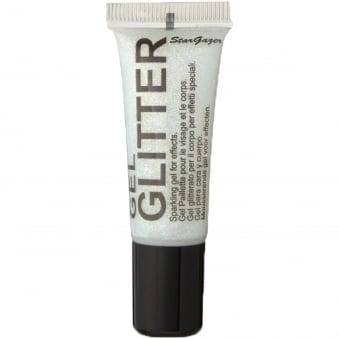 Gel Glitter - White 10ml
