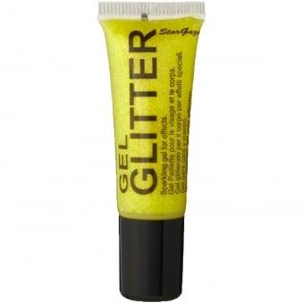 Gel Glitter - Yellow 10ml