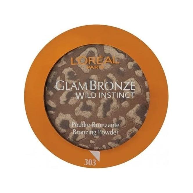 L'Oreal Glam Bronze Wild Instinct Bronzing Powder (SPF 10) 303 Dark