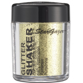 Glitter Shaker - Gold 5g (For Hair, Body and Party)