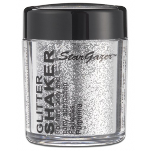 Glitter Shaker - Silver 5g (For Hair, Body and Party)
