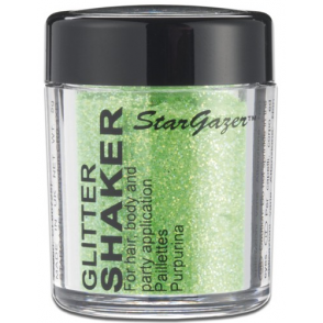 Glitter Shaker - UV Green 5g (For Hair, Body and Party)