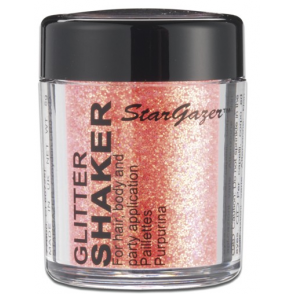 Glitter Shaker - UV Orange 5g (For Hair, Body and Party)